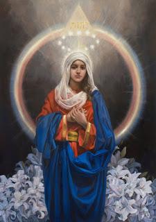 Matka Boska - Poczęcie Boga - Raul Berzosa
