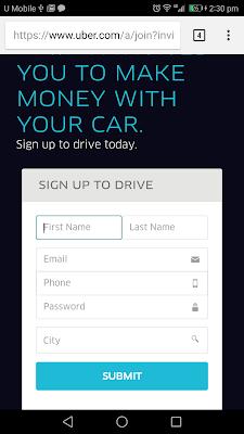 daftar pemandu uber malaysia