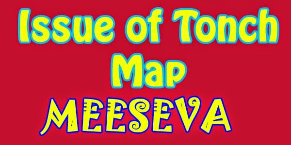 Issue of Tonch Map Apply Meeseva