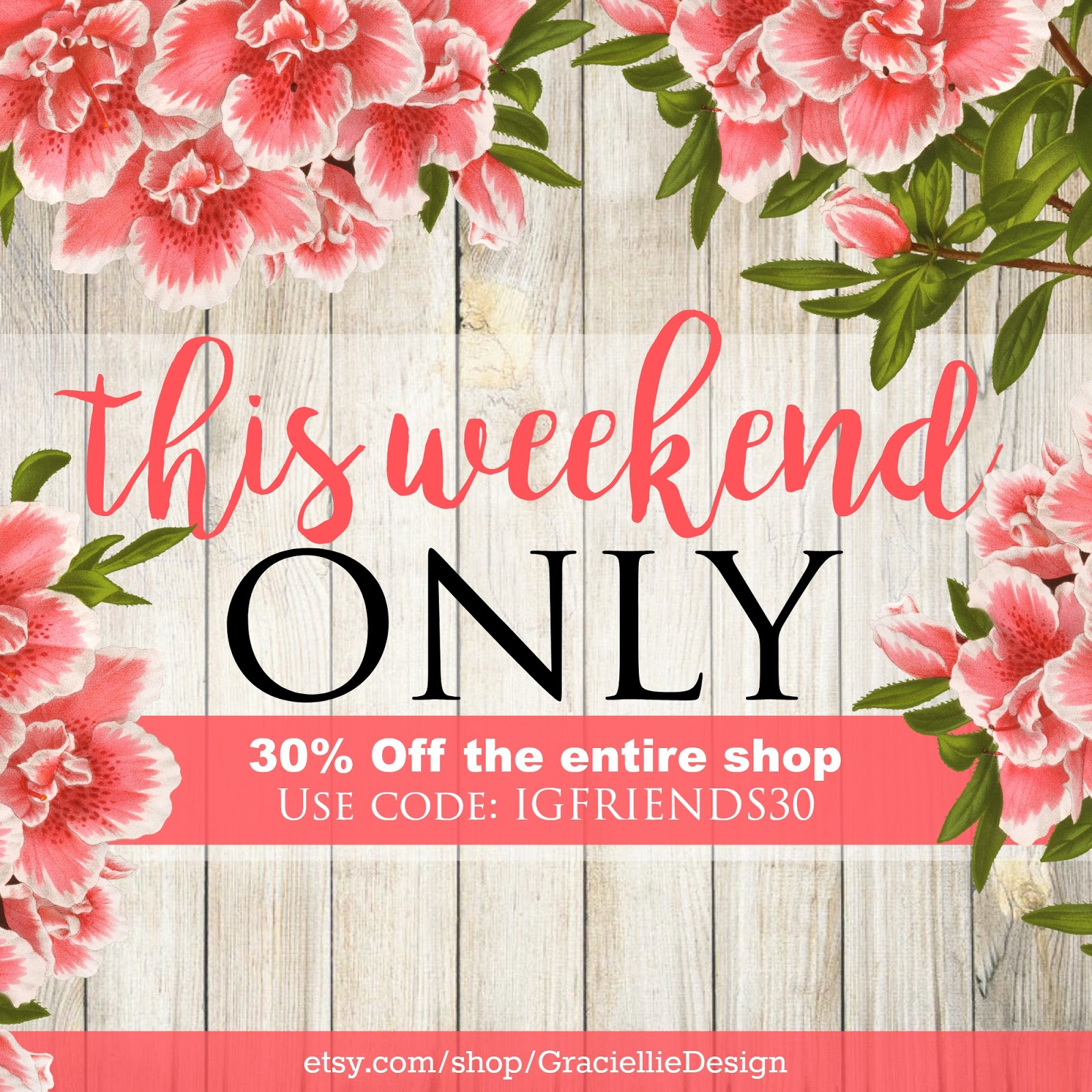 This Weekend Only: 30% OFF Just For You! -This Weekend Only- & Lots Of