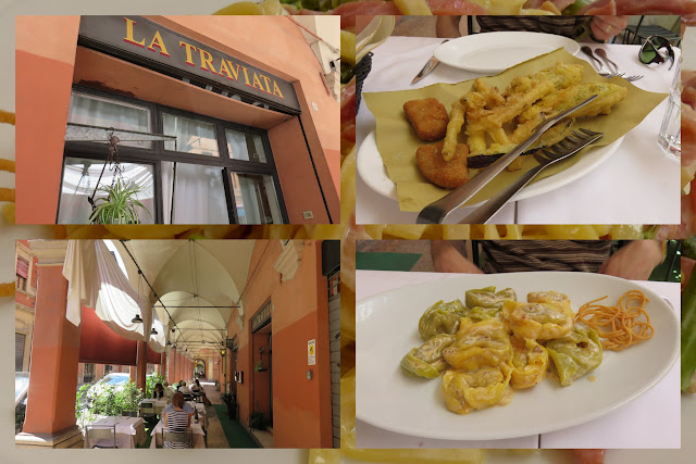 A Food Holiday in Emilia-Romagna Italy - Lunch at La Traviata