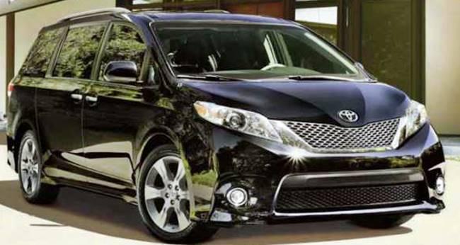 2016 Toyota Sienna Redesign Interiors