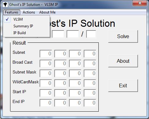 Ghost IP Solution - Phần mềm hỗ trợ tính toán IP cho môn học mạng máy tính