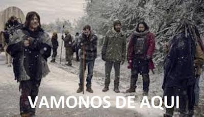 The Walking Dead 9x16 Daryl, Alexandria y El Reino