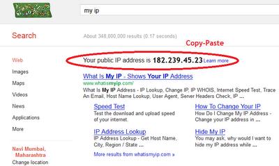 Cko 1.6 ipe adresi
