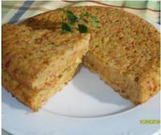 Tortilla de pan y chorizo