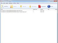 Tips menggabungkan dua atau lebih file pdf menjadi satu file