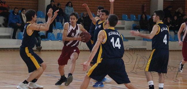 Πρωτιά για την ΕΣΚΑΝΑ το 33ο τουρνουά Χριστουγέννων Αγοριών «Πέτρος Καπαγέρωφ»-Επικράτησε στον άτυπο τελικό με 52-48 της ΕΚΑΣΘ-Πλούσιο φωτορεπορτάζ από το http://evrytaniasport.blogspot.gr/