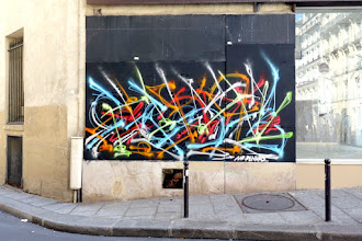 Sunday Street Art : Mr Renard - rue Montmartre - Paris 2