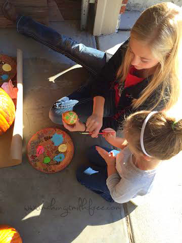 #fall #halloween #pumpkins #painting