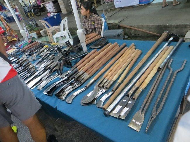 сельскохозяйственный инструмент в Таиланде
