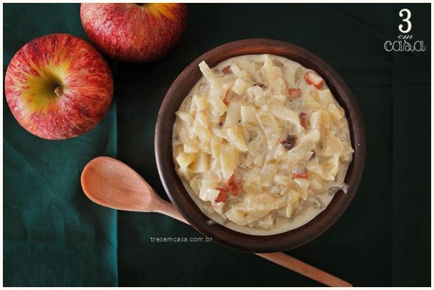 receita molho maçã