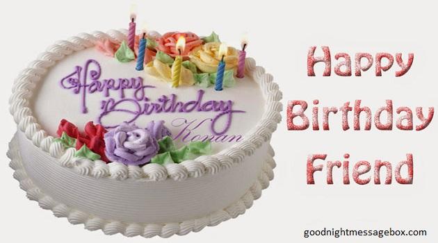 Happy Birthday My Best Friend Cake