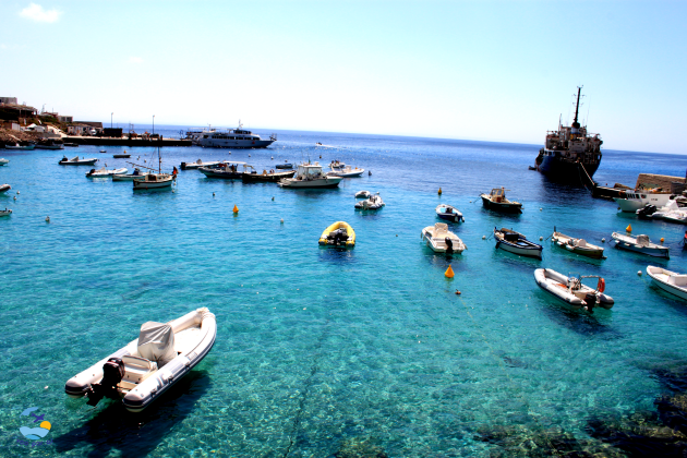 Passeio de barco nas Ilhas de Favignana e Levanzo