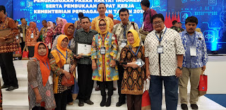 PD Pasar Kota Cirebon Dapat Penghargaan Pengelolaan Terbaik