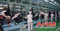 Ada Lowongan Kerja di PT Astra Honda Motor Bagian Operator Produksi (Lulusan SMA/SMK/Setara)
