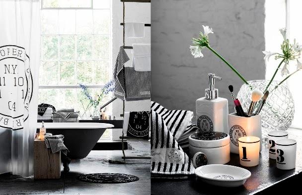 nueva colección 2014 baño H&M Home