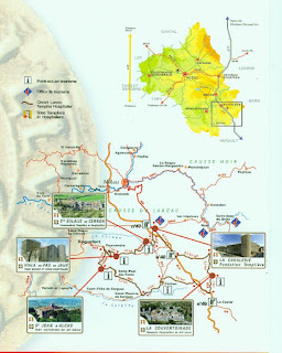 Ruta del Larzac templer i hospitaler