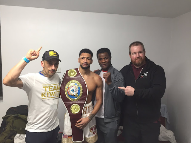 Freddy Kiwitt Decisions Paddy Gallagher, Wins European Title