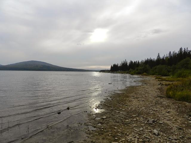 Солнце над озером Зюраткуль