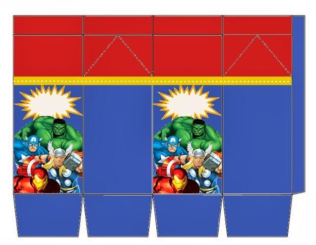 Fazendo A Propria Festa Kit Personalizados Os Vingadores