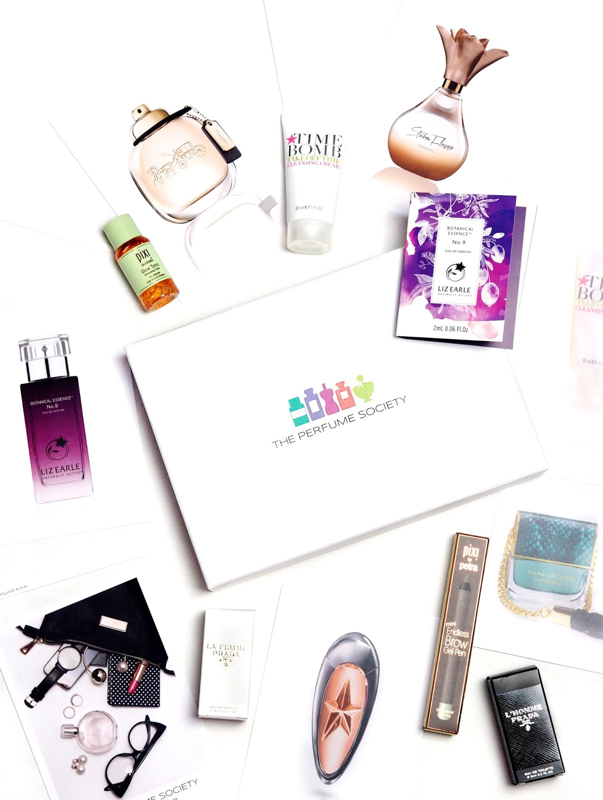 The Perfume Society Scents of Style Box