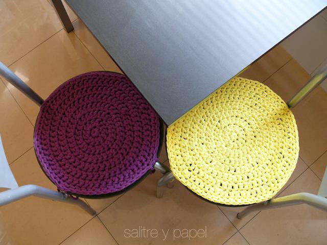 sillas con trapillo