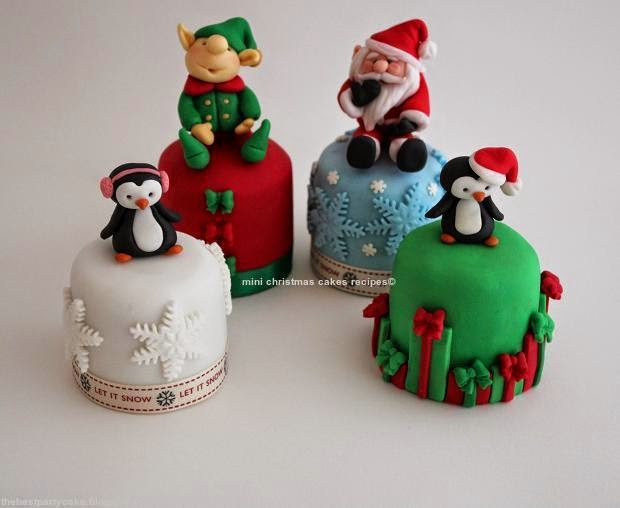 mini christmas cakes recipes