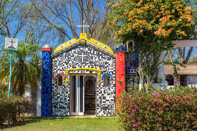 Capelinha de Mosaico, em São Bento do Sapucaí, na Serra da Mantiqueira