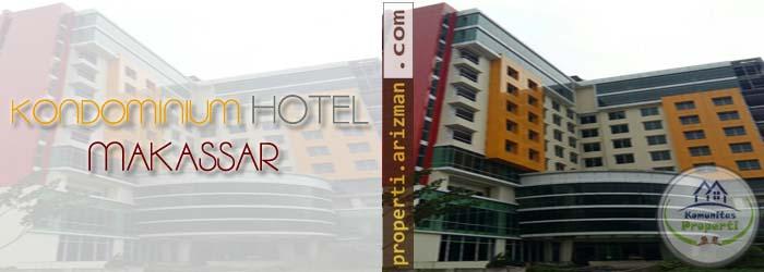 Dijual Kondominium Hotel 11 Lantai Makassar