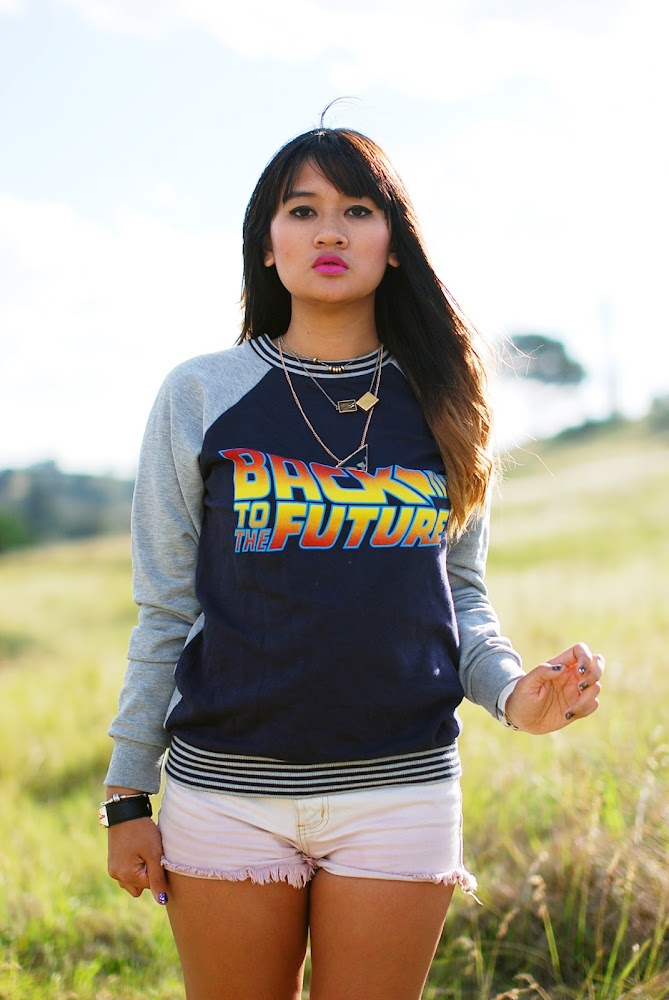 Asos Back to The Future Jumper Riders by Lee