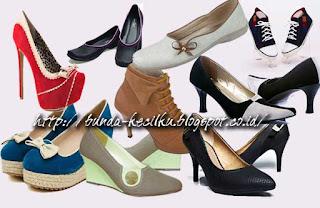 Jenis-jenis Sepatu Perempuan (Wanita)
