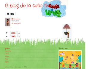 El blog de la seño Nieves