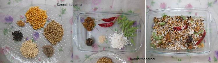 How to make Drumstick Sambar- Step 1