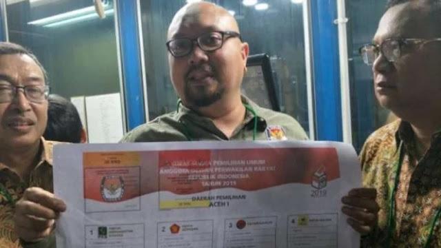KPU Belum Dapat Laporan Surat Suara Sudah Tercoblos Jokowi-Ma'ruf