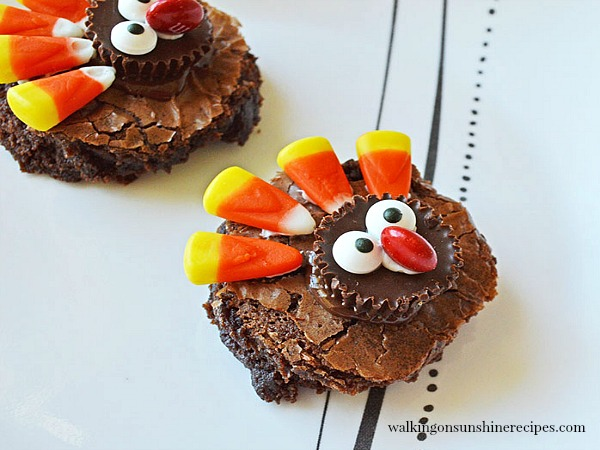 Recipe: Easy Thanksgiving Turkey Brownies - the Perfect ... - photo#39