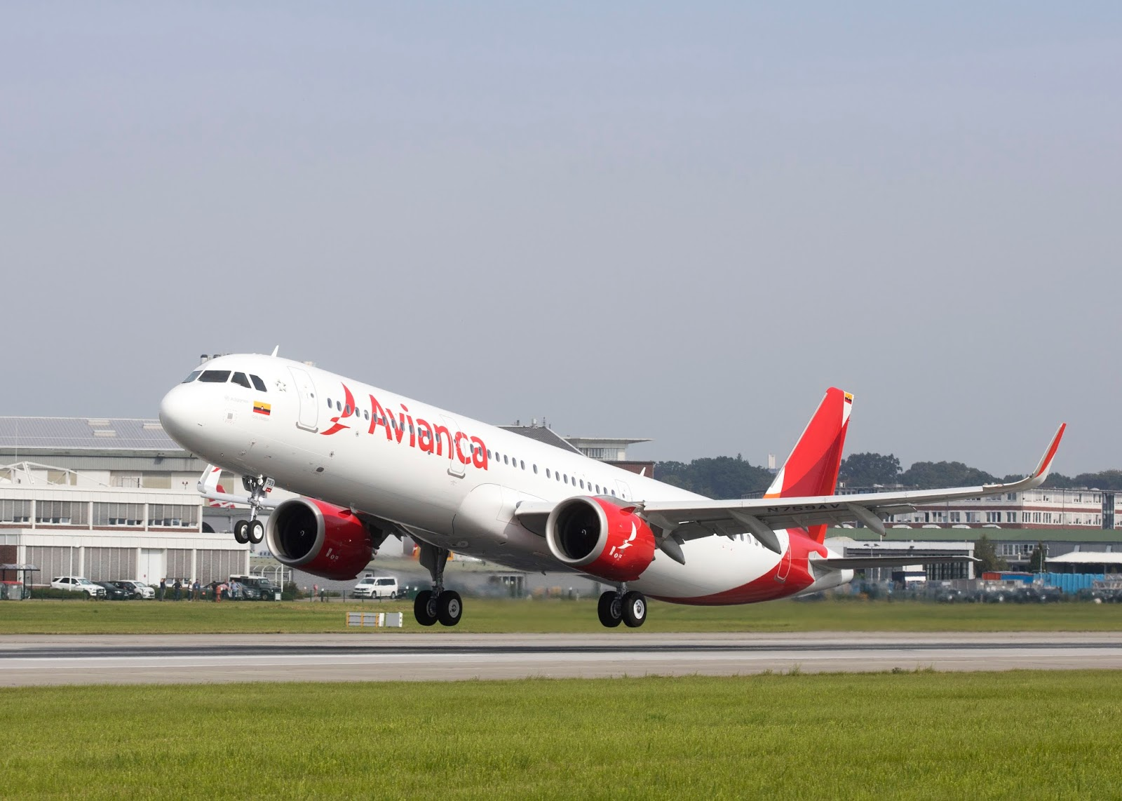 Airbus delivers first A321neo from Latin America to Avianca
