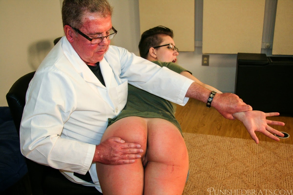 Mr potter dad punish spank grounded
