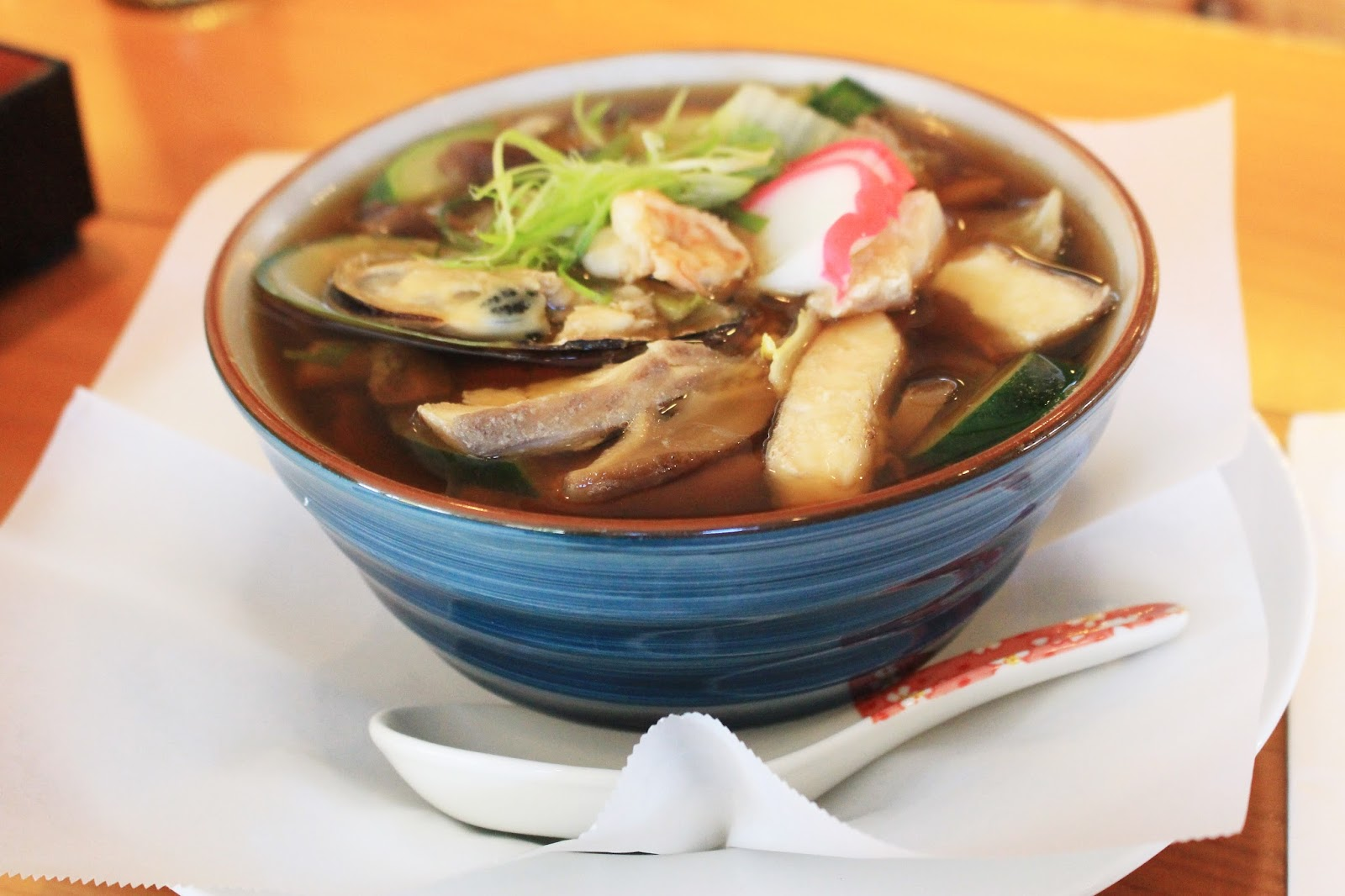 Japanese Foodie: Seafood Udon and Nigiri at Kamado Sushi ...