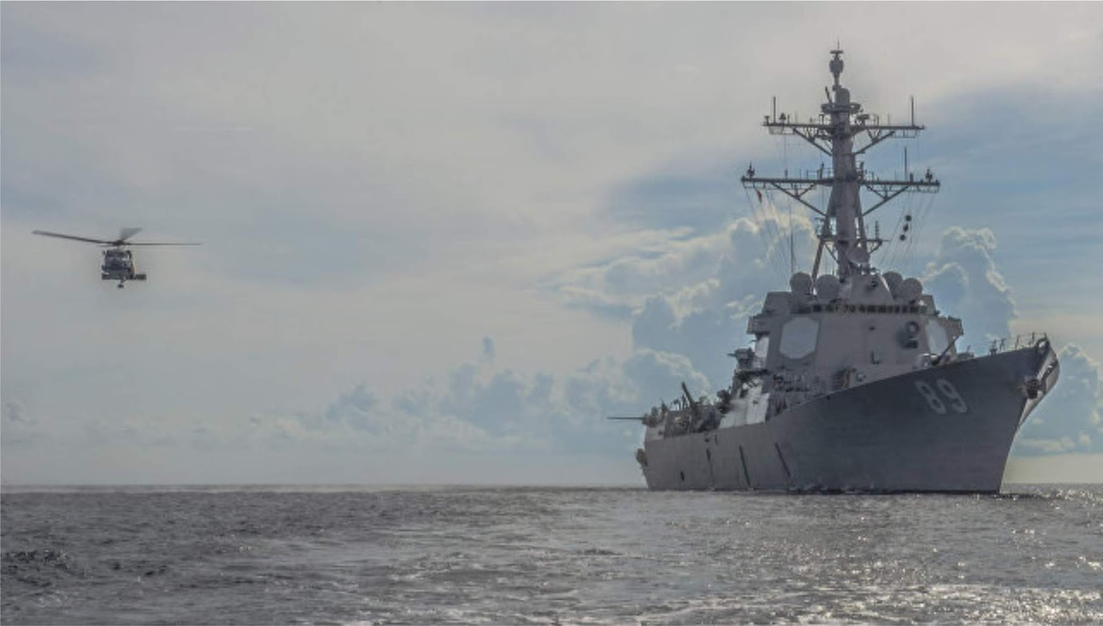 Amerika Serikat berhasil menguji rudal pencegat SM-3 Block IIA di Pasifik