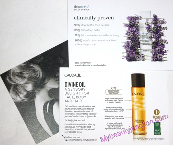 LookFantastic beauty box September 2014 review, unboxing, photos