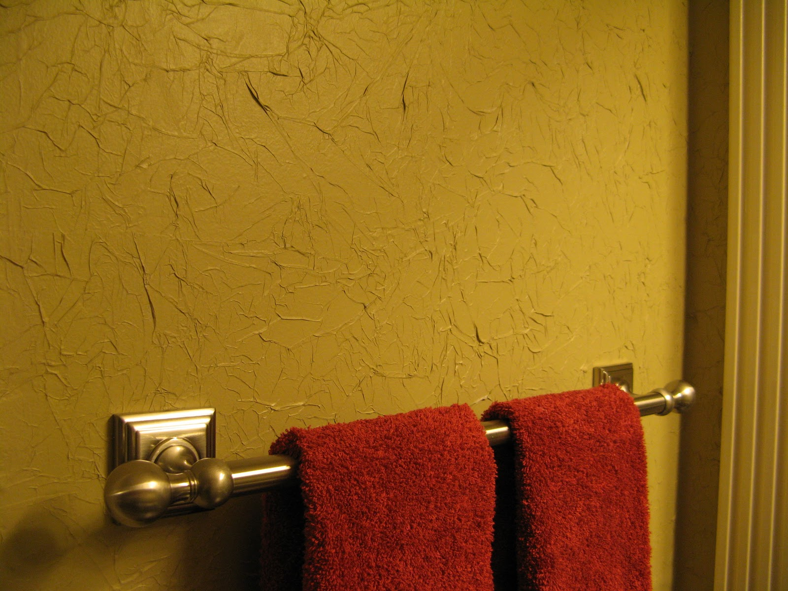 Susan Snyder: TISSUE PAPER WALL TREATMENT