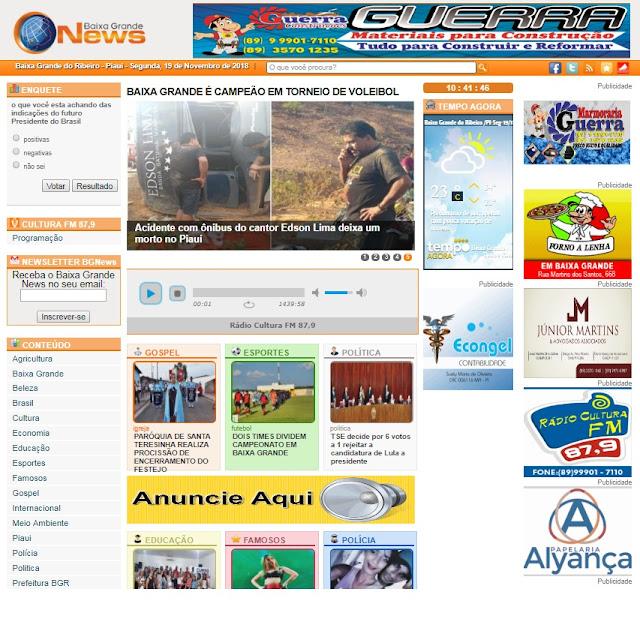 Site Baixa Grande News