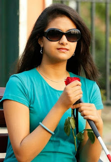 Keerthy Suresh in Blue T-Shirt with Cute and Lovely Smile