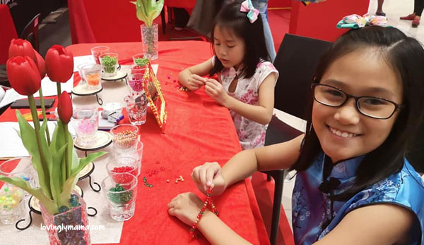 Chinese New Year Field Trip - Bacolaodiat - Bacolod - Bacolod mommy blogger -Filipino-Chinese- Chinese costumes for kids - Year of the Pig - charm bracelets