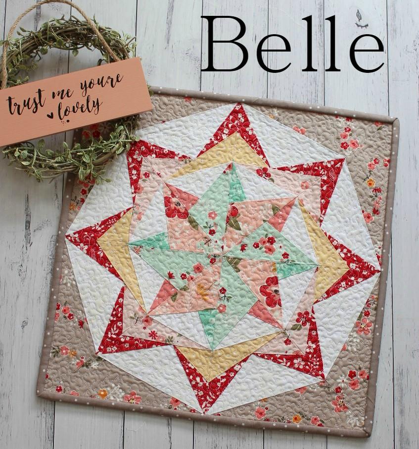 Belle Mini Quilt Your Free April 2018 Calendar Threadbare Creations
