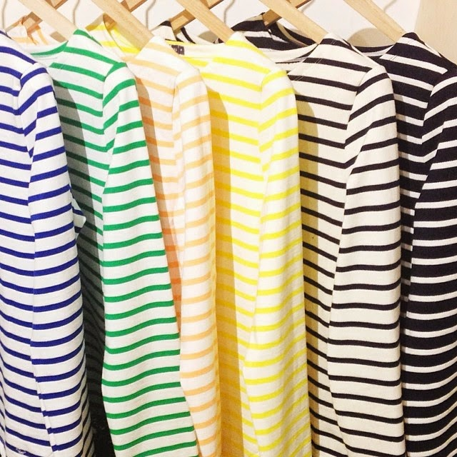 Petit Bateau breton stripe tops