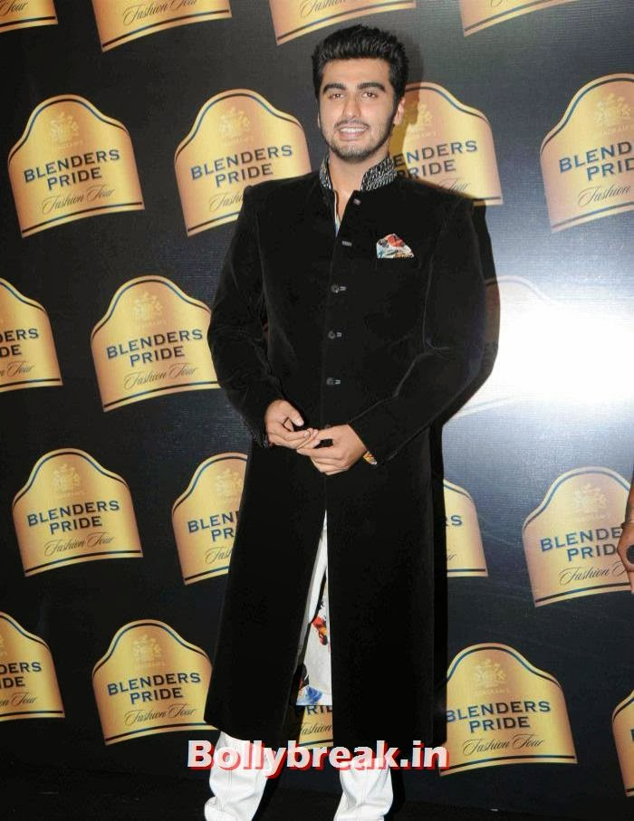 Arjun Kapoor, JJ Valaya Collections at BPFT 2013 - Arjun Kapoor Ramp Walk