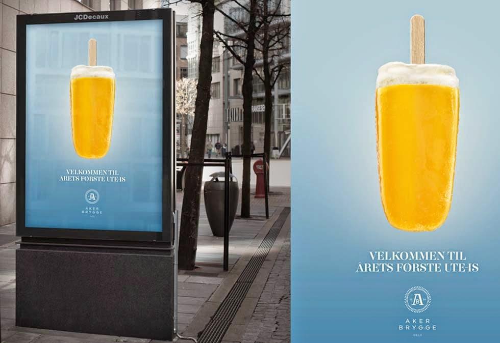 analysere en reklame av okologisk frukt