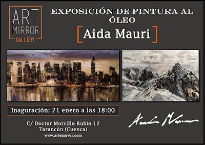 exposición de pintura al óleo, Galeria art mirror gallery Tarancón